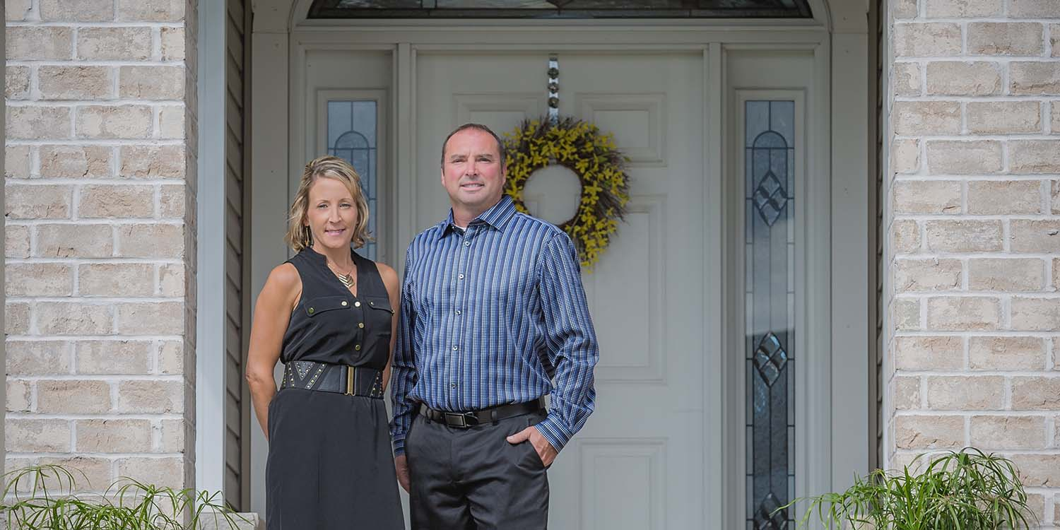 Mark and Shelly LeMense, custom home builders and interior designers in Green Bay, WI
